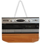New Dvr With Old Vcr Weekender Tote Bag
