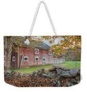New England Barn Weekender Tote Bag by Bill Wakeley
