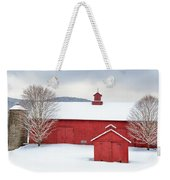 New England Barns Square Weekender Tote Bag