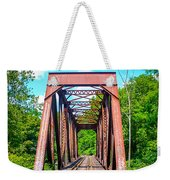 New England Bridge Weekender Tote Bag