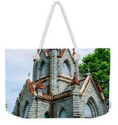 New England Cemetery Mausoleum Weekender Tote Bag