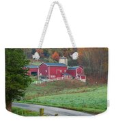 New England Farm Square Weekender Tote Bag