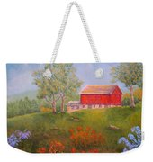 New England Red Barn Summer Weekender Tote Bag