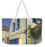 New England Style Building At Fisherman's Village Marina Del Rey Los Angeles Weekender Tote Bag