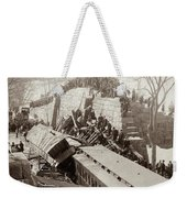 New England Train Wreck Weekender Tote Bag