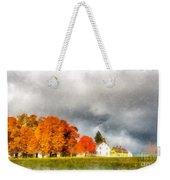 New England Village Weekender Tote Bag