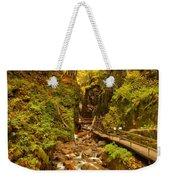 New England Waterfall Gorge Weekender Tote Bag