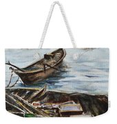 New England Wharf Weekender Tote Bag