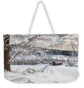 New England Winter Farms Weekender Tote Bag