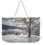 New England Winter Farms Morning Weekender Tote Bag