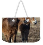 New Forest Ponies Weekender Tote Bag