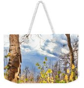 New Generation - Mixed Media - Casper Mountain - Casper Wyoming Weekender Tote Bag