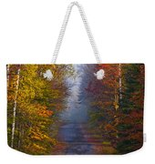 New Hampshire Back Road Weekender Tote Bag
