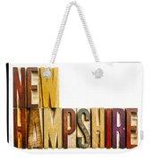 New Hampshire  Weekender Tote Bag