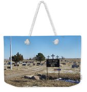 New Hope Cemetery Weekender Tote Bag