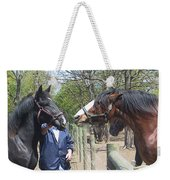 New Horse In The Herd Weekender Tote Bag