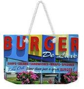 New Jersey Diner Weekender Tote Bag