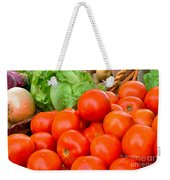 New Jersey Farm Market Goodness Weekender Tote Bag