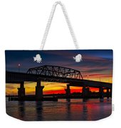 New Jersey Meadowlands Sunset Weekender Tote Bag