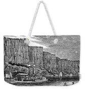 New Jersey Palisades Weekender Tote Bag