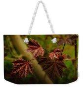 New Leaves For Napanee Weekender Tote Bag