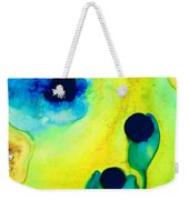 New Life - Green And Blue Art By Sharon Cummings Weekender Tote Bag by Sharon Cummings