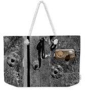 New Lock On Old Door 2 Weekender Tote Bag