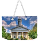 New London Courthouse Weekender Tote Bag