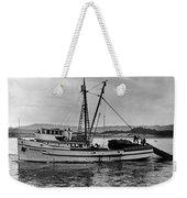 New Marretimo Purse Seiner Monterey Bay Circa 1947 Weekender Tote Bag