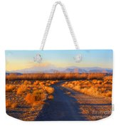 New Mexico Back Country Road Weekender Tote Bag