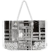 Will Build To Suit New Mexico Doors Weekender Tote Bag