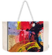 New Mexico Map Art - Painted Map Of New Mexico Weekender Tote Bag