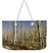 New Mexico Series -  Bare Autumn Weekender Tote Bag