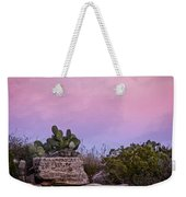 New Mexico Sunset With Cacti Weekender Tote Bag