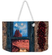 New Mexico Window Gold Weekender Tote Bag