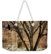 New Mexico Winter Weekender Tote Bag by Carol Leigh
