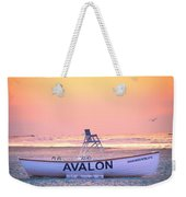 New Morning In Avalon Weekender Tote Bag