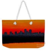 New Orleans City Sunset Weekender Tote Bag