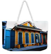 New Orleans Creole Cottage Weekender Tote Bag