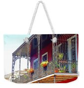 New Orleans French Quarter Architecture 2 Weekender Tote Bag