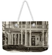 New Orleans Home - Paint Sepia Weekender Tote Bag