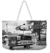 New Orleans - Lucky Dogs Bw Weekender Tote Bag by Steve Harrington