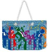 New Orleans Mardi Gras Balcony Weekender Tote Bag