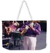 New Orleans Musician Weekender Tote Bag