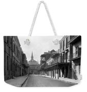 New Orleans Old French Quarter Weekender Tote Bag