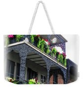 New Orleans Porches Weekender Tote Bag