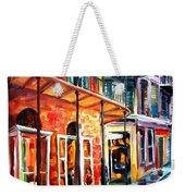 New Orleans Rainy Day Weekender Tote Bag