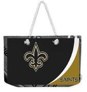 New Orleans Saints Weekender Tote Bag