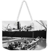 New Orleans Shipping, 1903 Weekender Tote Bag
