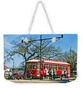 New Orleans Streetcar Weekender Tote Bag